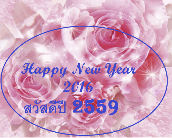 NEW YEAR Pink rose